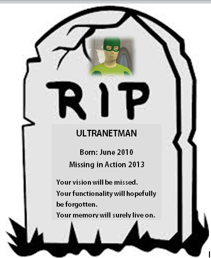 RIP Ultranetman